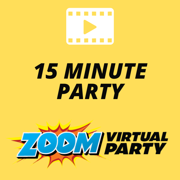 Zoom Virtual Parties online party entertainment